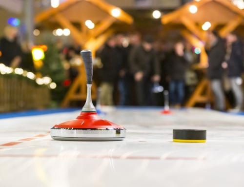Neue Attraktion auf der Bochumer Weihnacht: Eisstockschießen