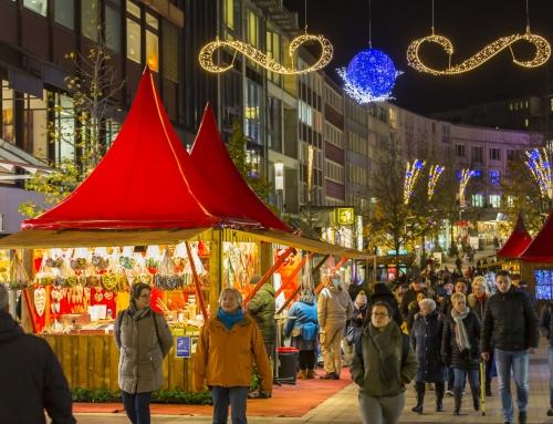 Neue Stände auf dem Bochumer Weihnachtsmarkt